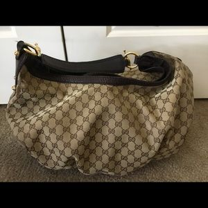 Authentic Gucci Bag Large